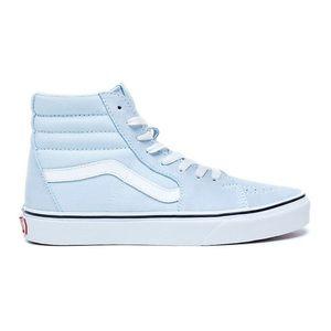 VANS Sk8-Hi Baby Blue & True White Womens Shoes 6